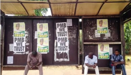 pmb campaign poster makurdi