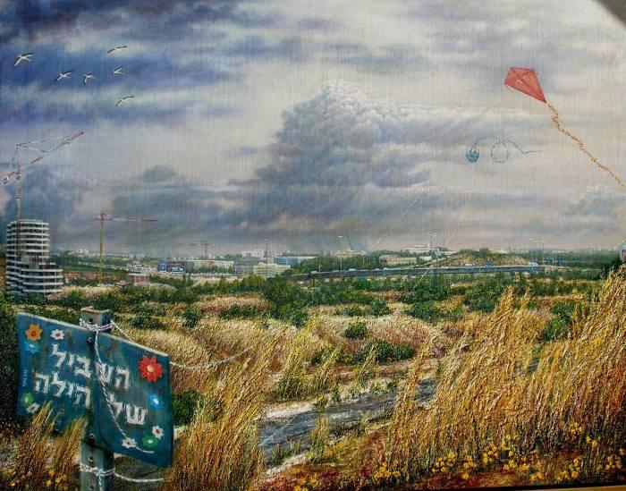 Художник-самоучка. Yitzhak Nir