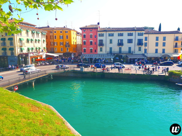 Peschiera del Garda city view, Lake Garda | Veneto, Italy | wayamaya