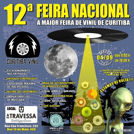 04-09-2021 - 12ª FEIRA NACIONAL - Curitiba - PR