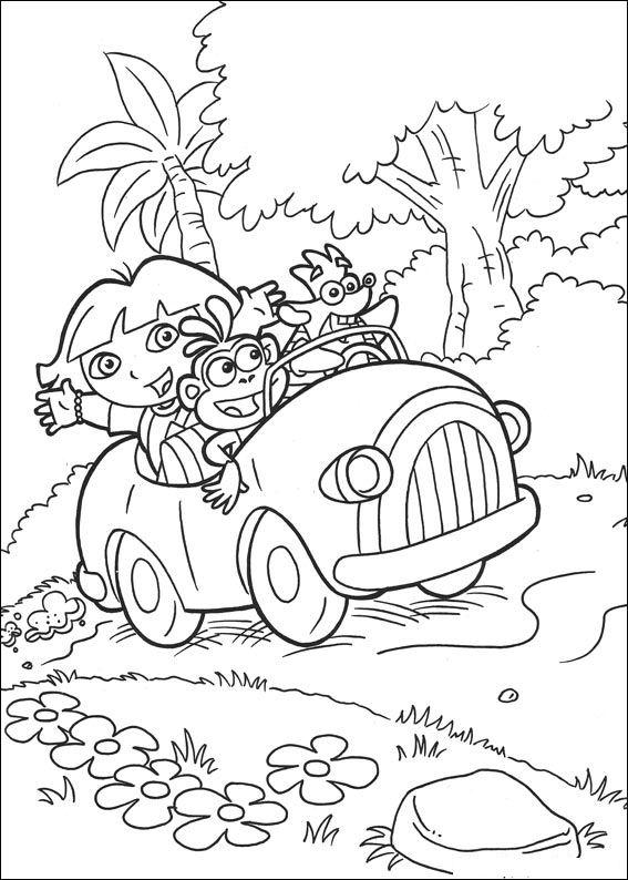 Großzügig Dora Und Freunde Zum Ausdrucken Fotos - Beispiel ...