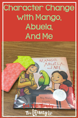 Characters change throughout the story in many books. In Mango, Abuela, and Me both characters change to fit the needs of their circumstances.