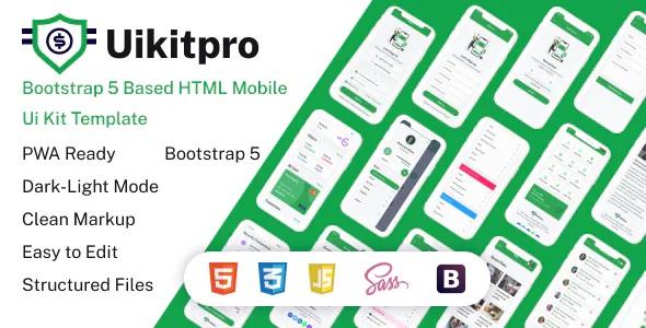 Best Multipurpose e-Wallet HTML Mobile Template