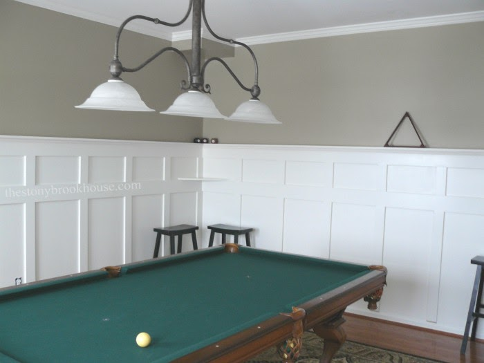 Board & Batten in the Billiard Room