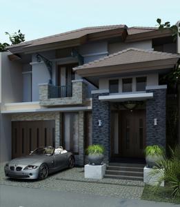 design moden rumah teres dua tingkat | desainrumahid