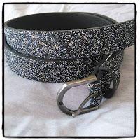 ceinture à paillettes