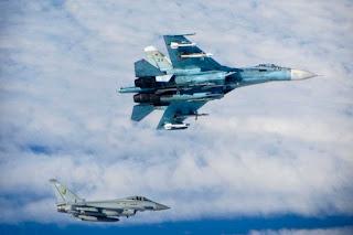Jet-jet Tempur NATO Tiga Kali Cegat Pesawat Militer Rusia