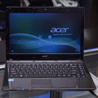 Laptop Acer Aspire 4752 Core i3 Sandy di Malang