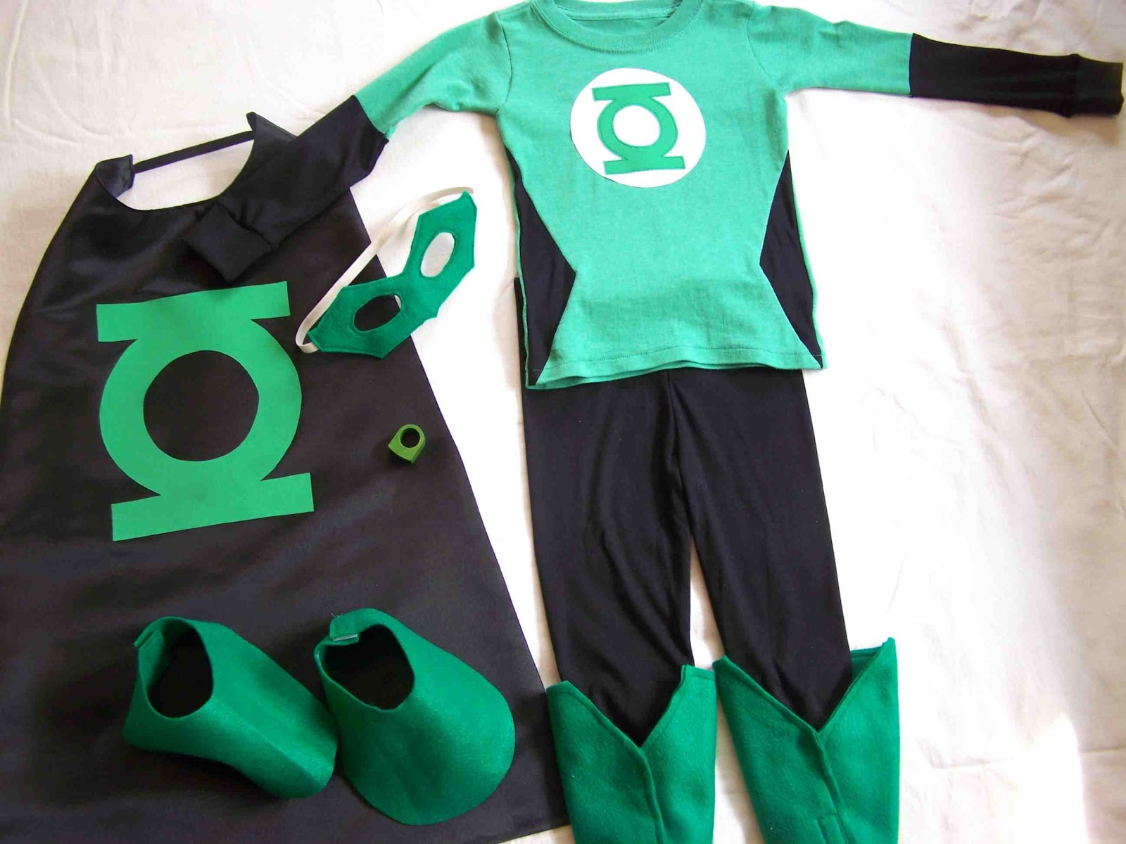 Made By Me Shared With You Halloween Costume Boys Green Lantern