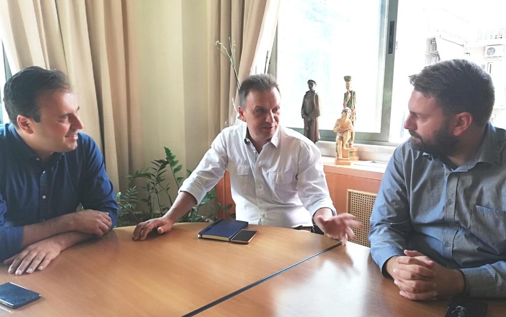 Συνάντηση Παπαστεργίου με Δημάρχους της ορεινής Ελλάδας