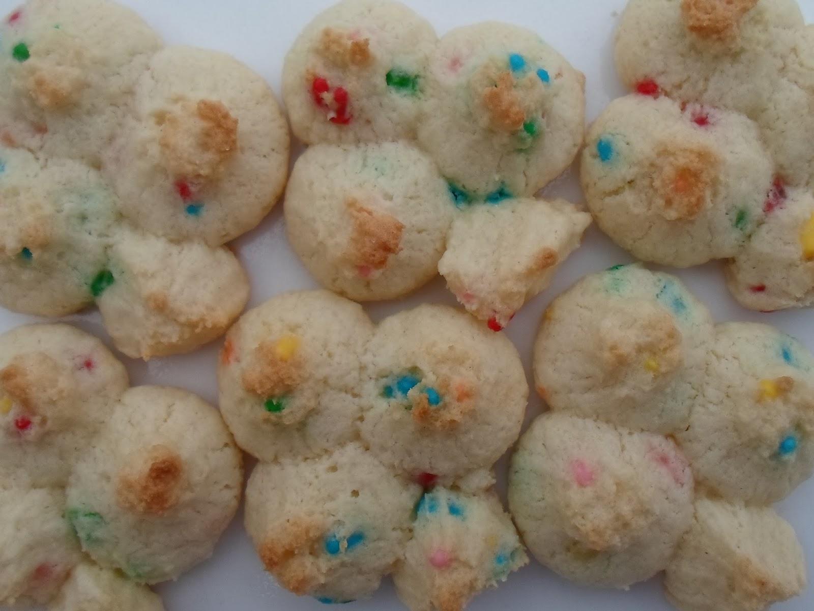 Happier Than A Pig In Mud Funfetti Birthday Cake Spritz Cookies