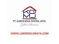 Lowongan Perusahaan Pengembang Perumahan / Developer Boyolali di PT Karya Dua Matra Jaya