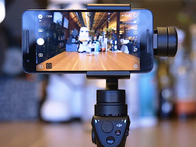 DJI Osmo Mobile 2 Review and Photos