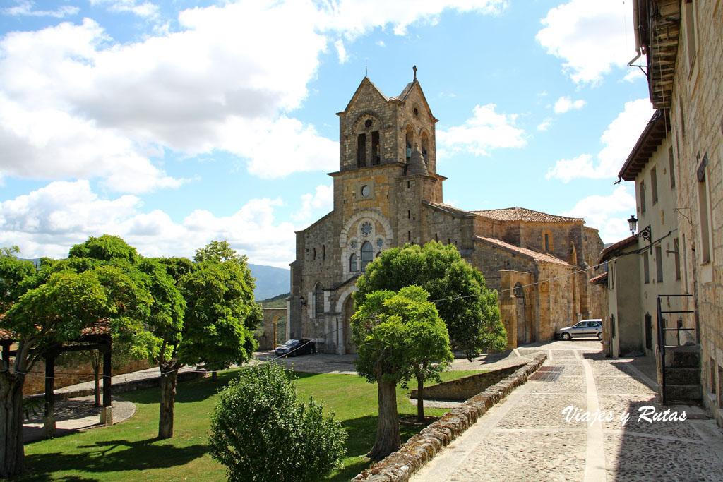 Iglesia de san Vicente, Frías