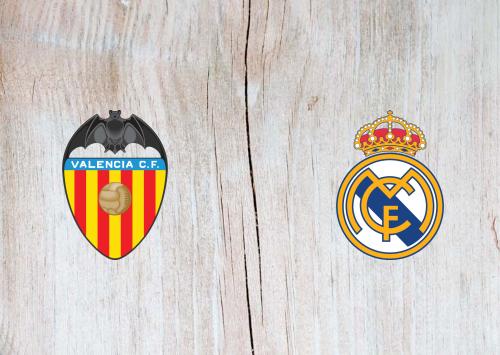 Valencia vs Real Madrid -Highlights 08 November 2020