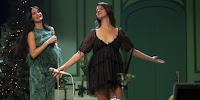 Lana del Rey en el show navideño de Kacey Musgraves