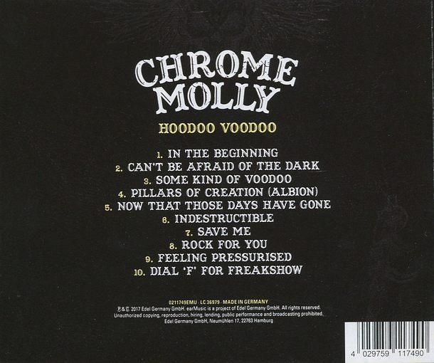 CHROME MOLLY - Hoodoo Voodoo (2017) back