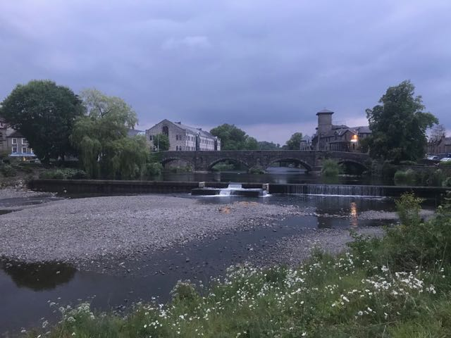 Stramongate Bridge and Kendal Weir