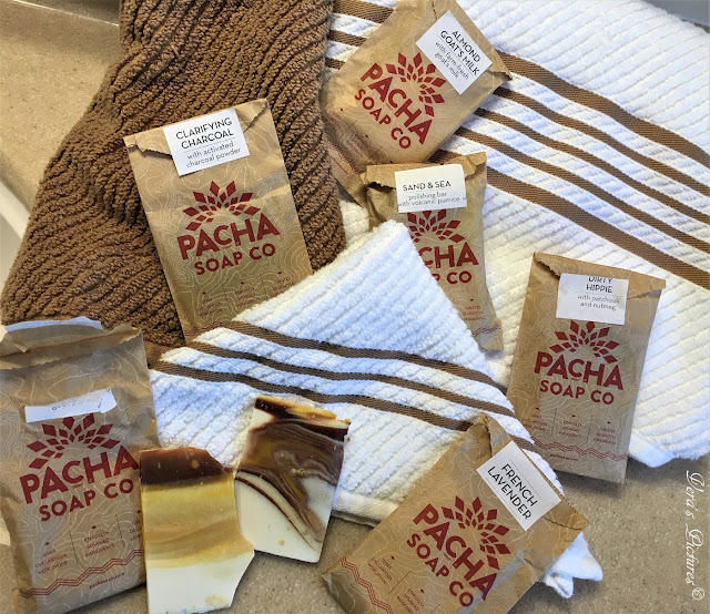 Pacha Soap Bar Samples
