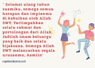 gambar ucapan selamat ulang tahun untuk suami islami