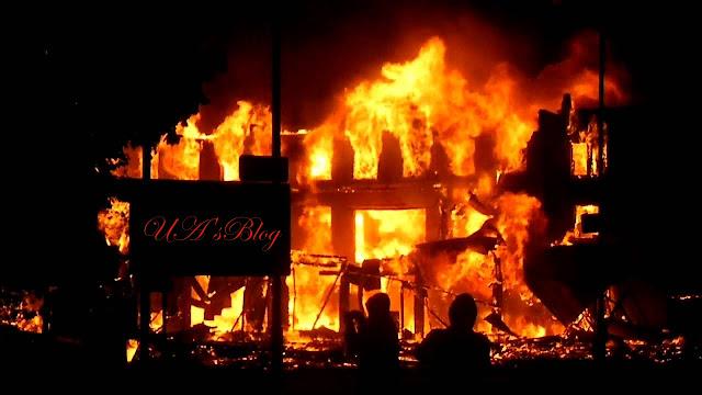 Enugu LG Polls: PDP office set ablaze