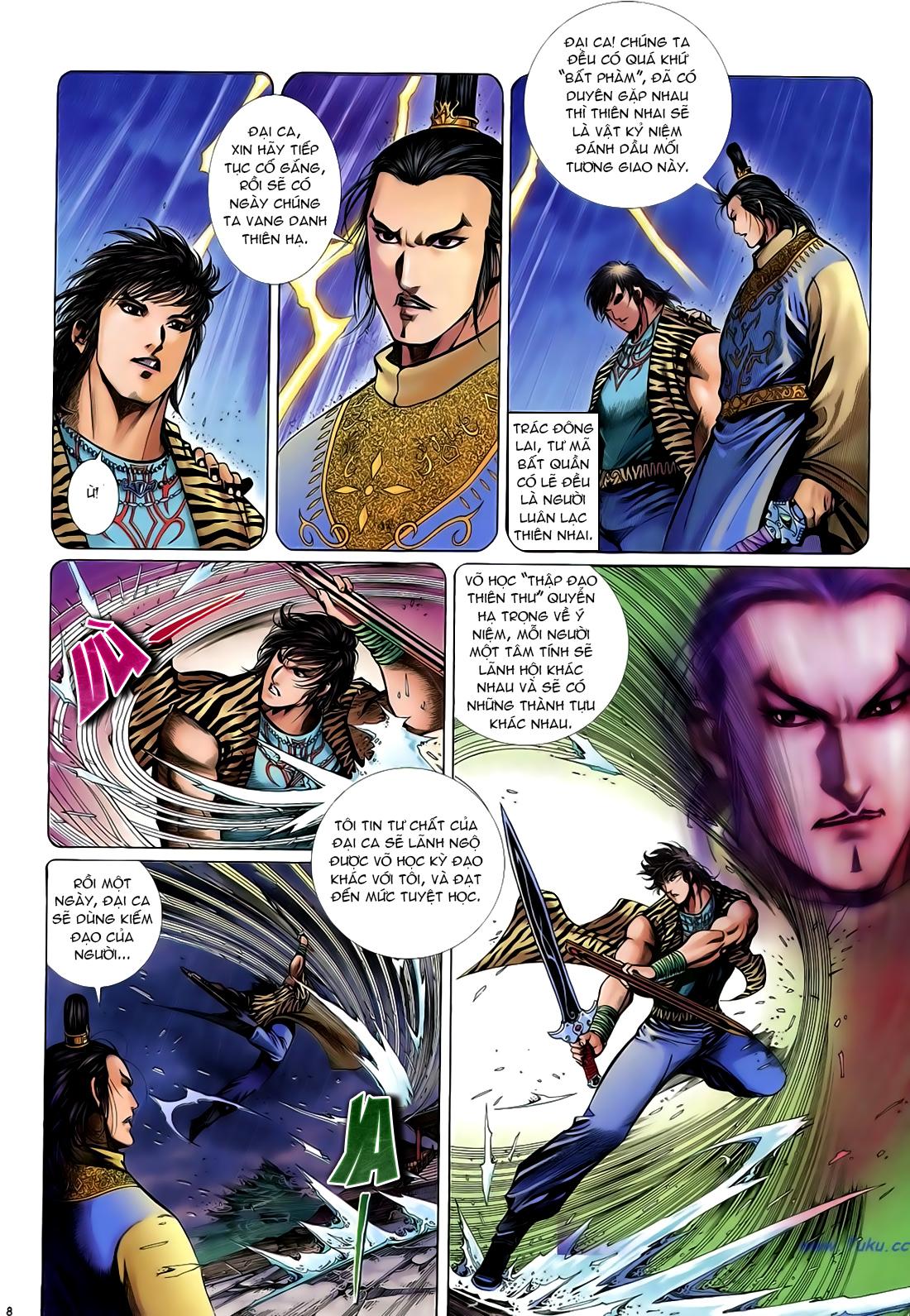 Anh hùng vô lệ Chap 24 trang 9