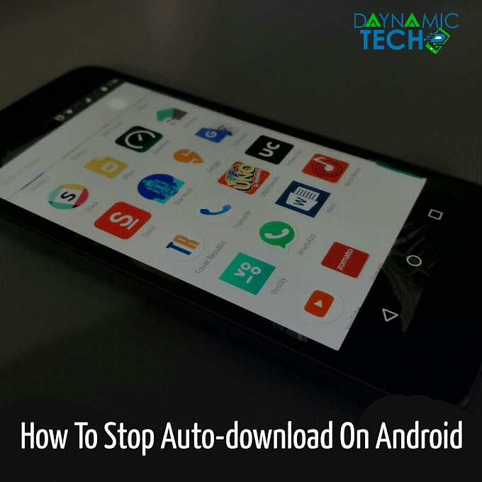 How To Stop Auto Download On Android Device