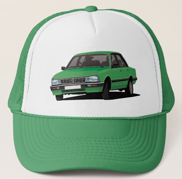 Peugeot 505 V8 - car trucker hats