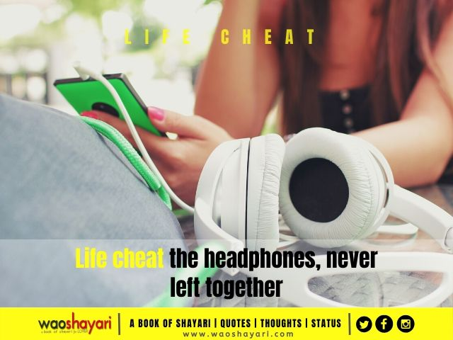 headphones volume up quotes for whatsapp