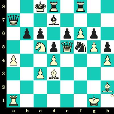 Les Blancs jouent et matent en 2 coups - Emilio Ramirez vs A Rolle, Nice, 1974