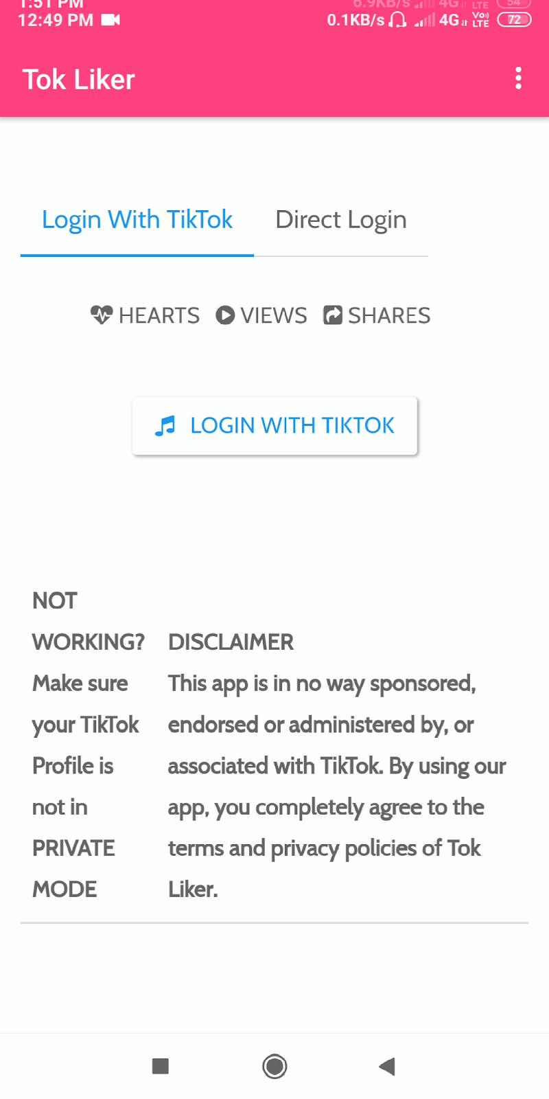 How to increase unlimited real likes on Tik Tok/Tik Tok par