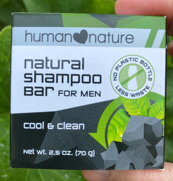 Human Nature shampoo bar for men