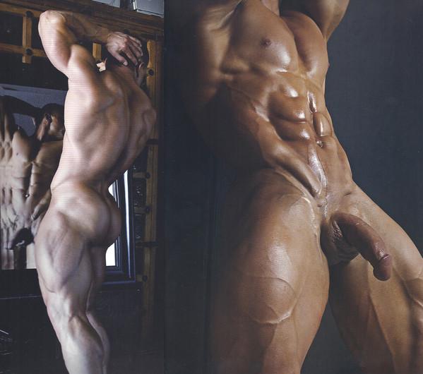 gay mans pleasure ryan hugues shows cock