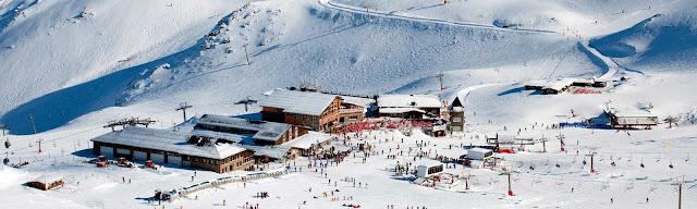 Estaciones de esquí en Sierra Nevada