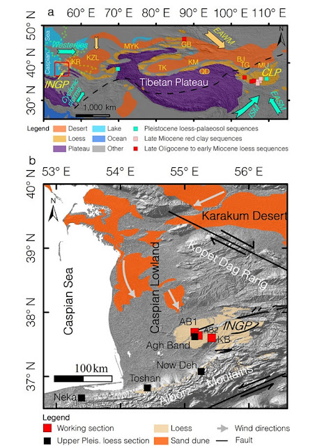 Palaeosol loess shed light on early Pleistocene climate in western arid central Asia