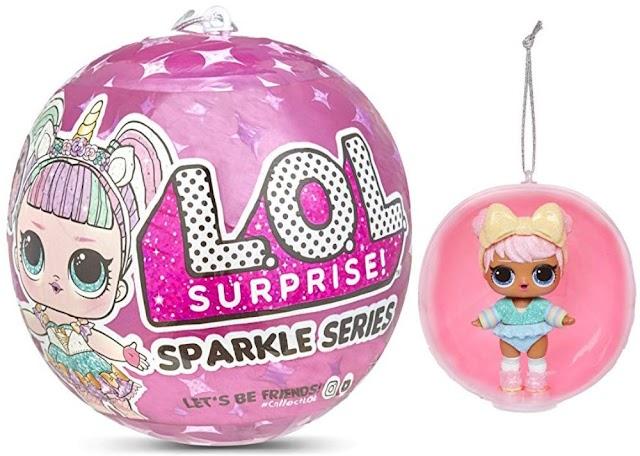 Новые куклы L.O.L. Surprise! Sparkle Series: блестящие шары на новогоднюю елку