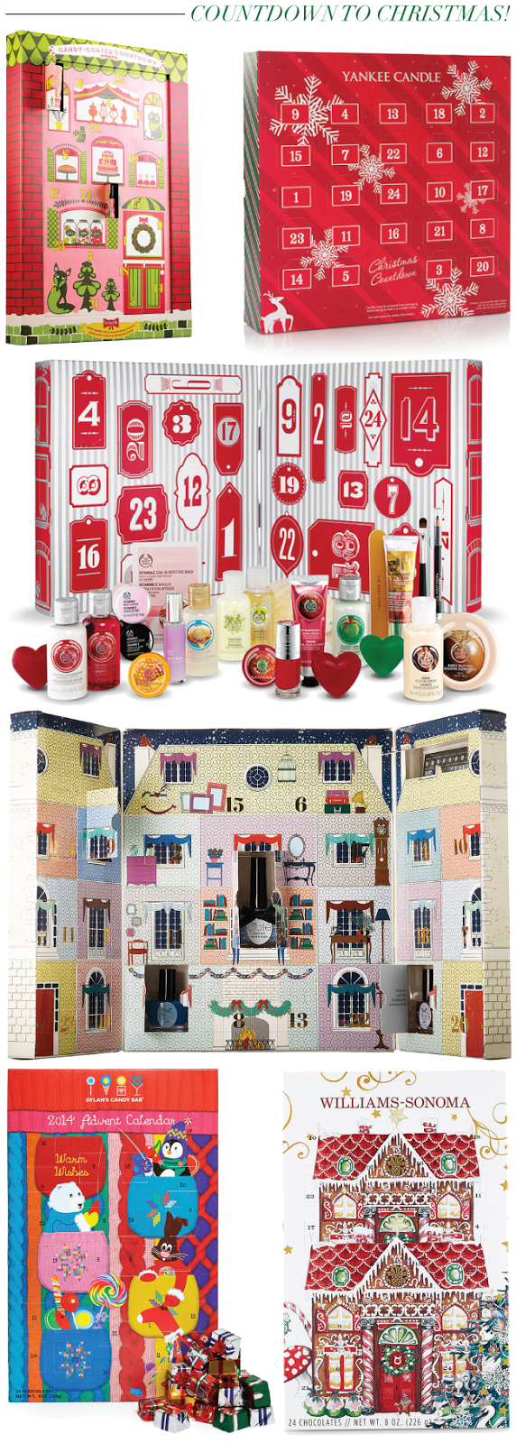 Christmas & Holiday Countdown: Advent Calendars // A Style Caddy