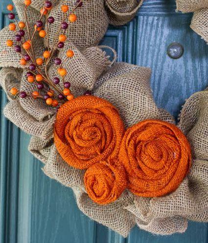 Προτάσεις για να φτιάξετε εντυπωσιακά Φθινοπωρινά Στεφάνια