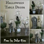 Halloween Dollar Store decor