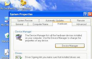 Cara Mencari Device Driver Yang Belum Terinstall
