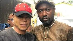 Bobrisky and Alhaji Bashir Femi Olowu, Isolo-Ejigbo NURTW chairman