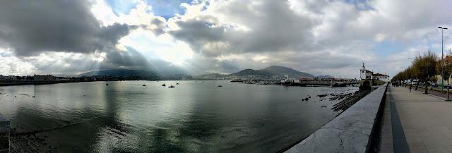 One week in Bilbao in winter: walk the coastal promenade in Getxo