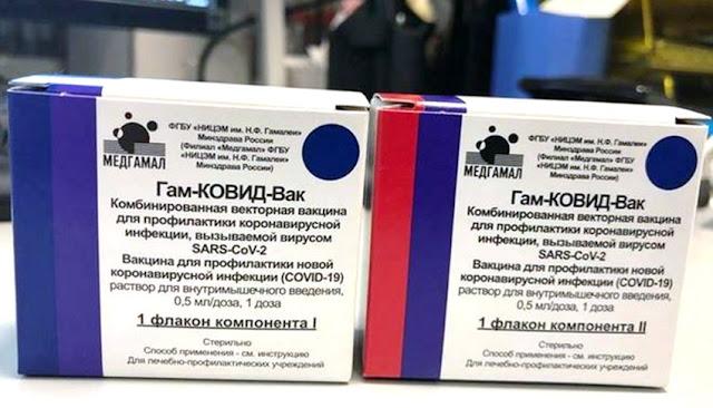 Sputnik V, la vacuna rusa contra Covid-19