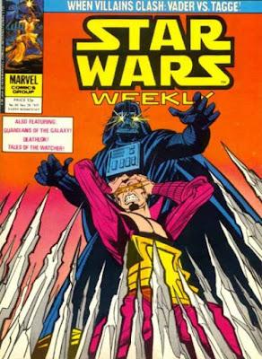Star Wars Weekly #92, Darth Vader vs Baron Tagge