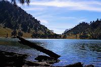 Ranu Kumbolo Gunung Semeru yang tenang