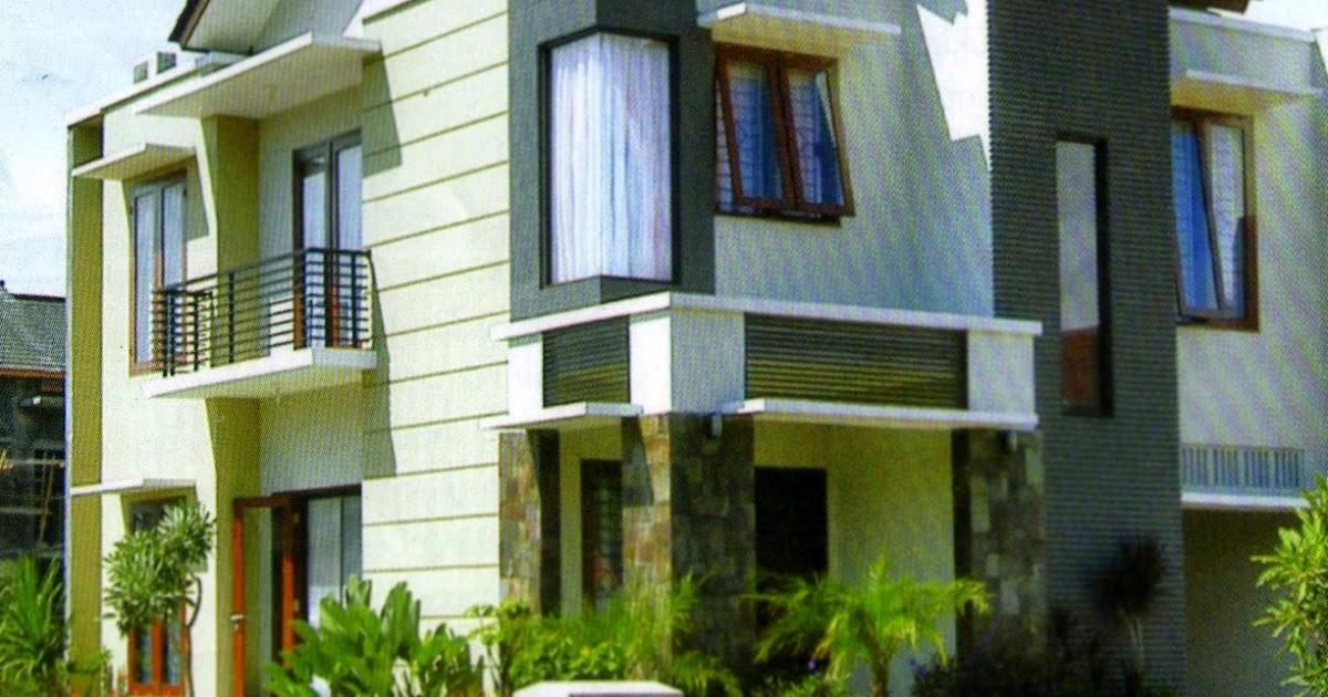 63+ Kombinasi Warna Hijau Eksterior Rumah