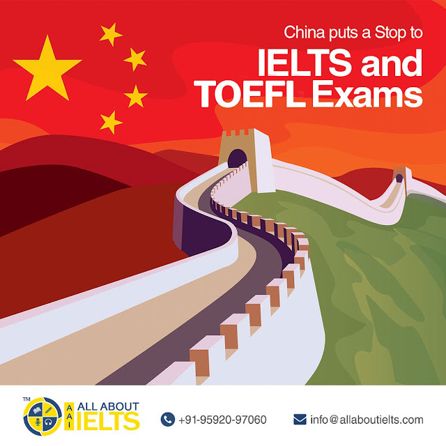 china puts a stop to ielts and toefl exams