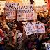 Manifestantes ocupam ruas em torno do Sindicato dos Metalúrgicos em apoio a Lula
