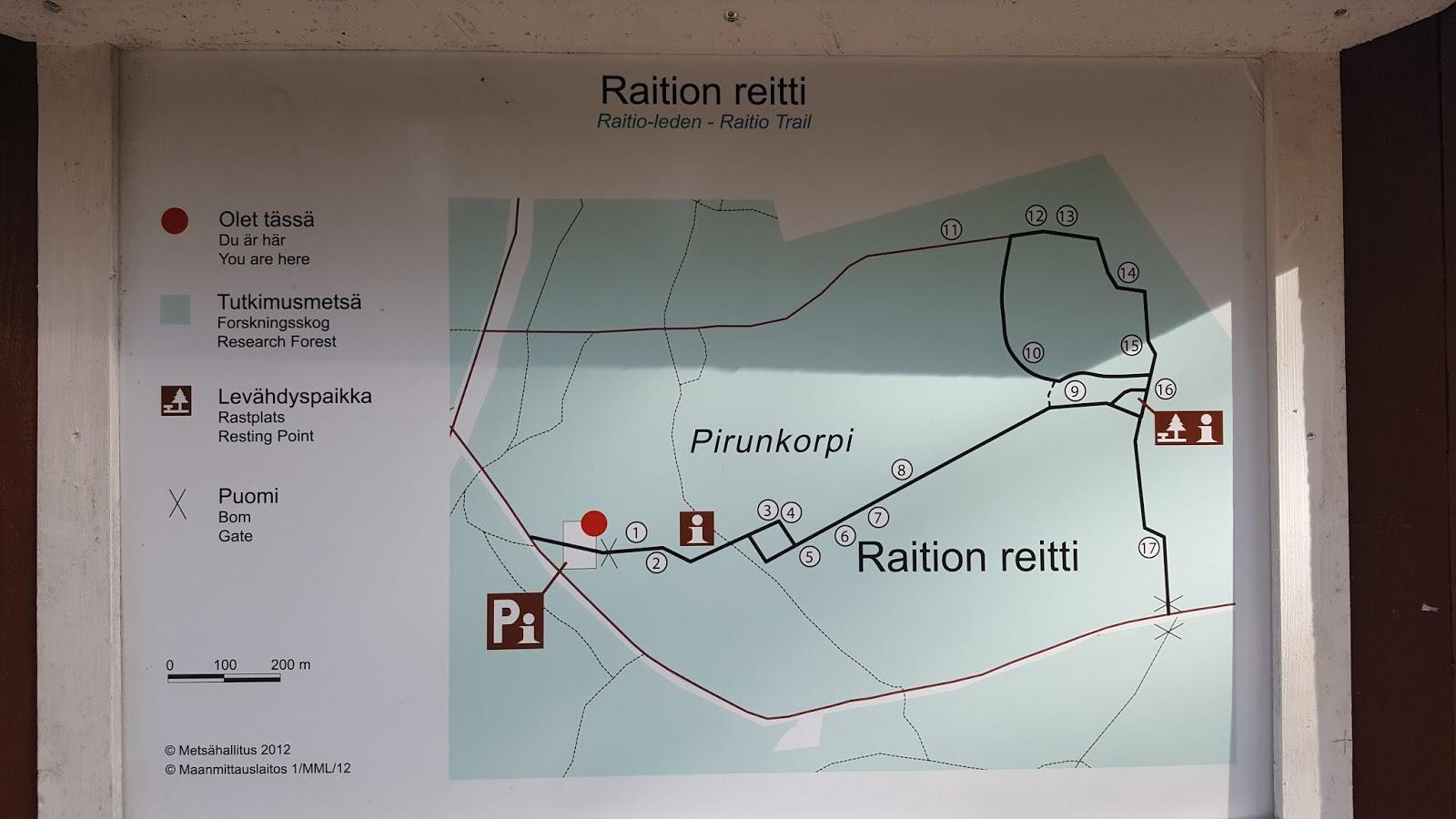 Raition Reitti Tuusulassa