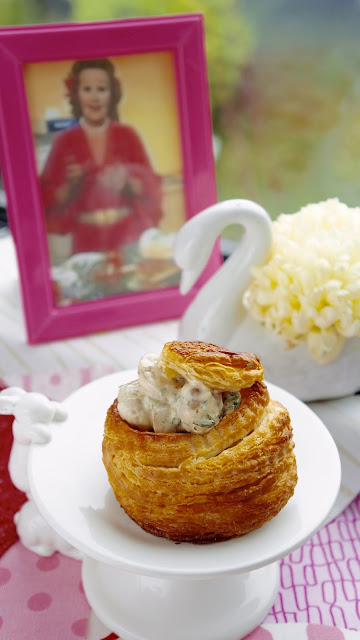 Fanny Cradock Vol Au Vents